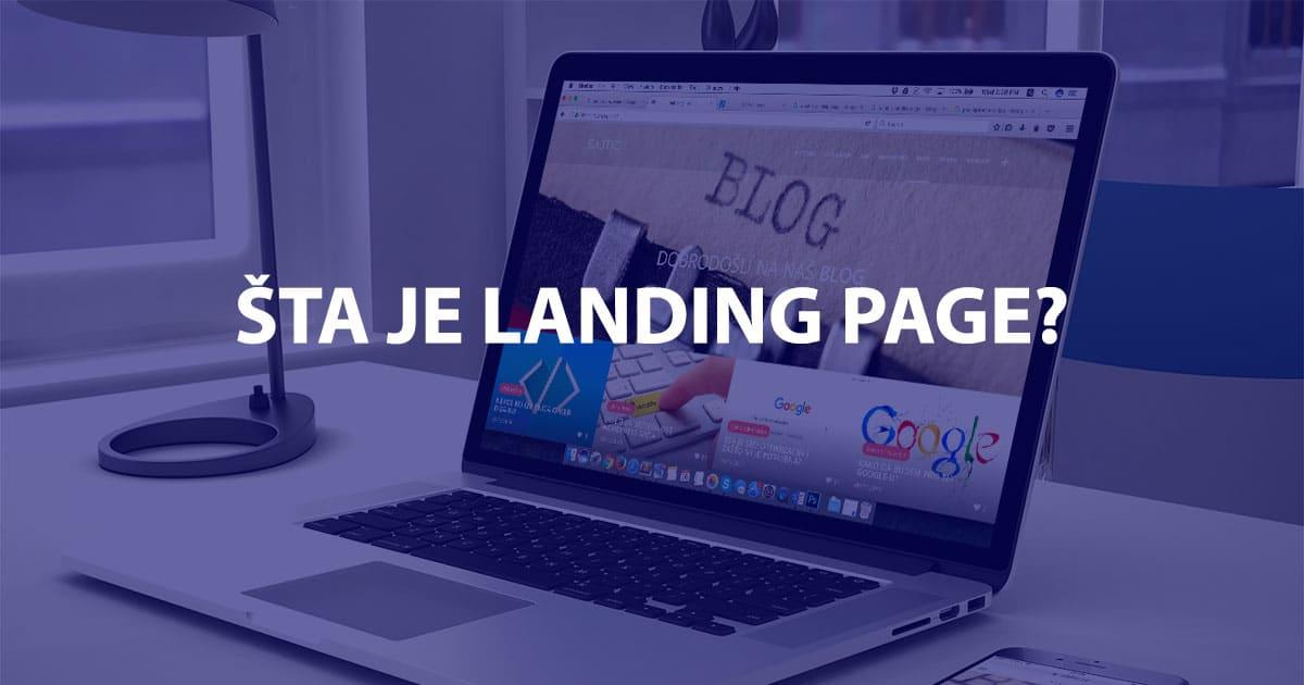 Šta je Landing Page, šta sadrži i kako ga optimizovati?  Sajtic