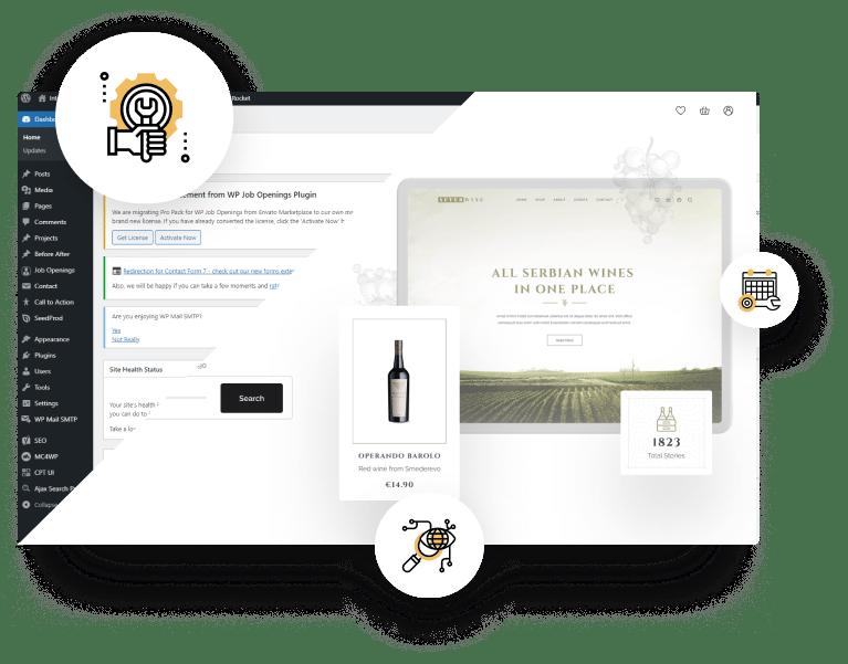 Održavanje WordPress Sajtova Sajtic